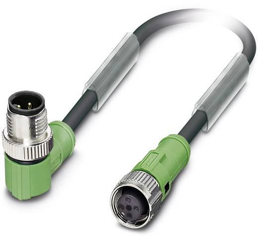 Sensor-/Aktor-Steckverbinder, konfektioniert M12 Stecker, gewinkelt, Buchse, gerade 7.50 m Polzahl: 4 Phoenix Contact 15
