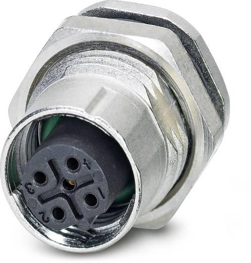 Sensor-/Aktor-Einbausteckverbinder M12 Buchse, Einbau Polzahl (RJ): 5 Phoenix Contact 1553022 SACC-DSI-FSB-5CON-L180/SC