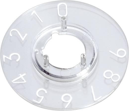 Skalenscheibe 0-9 30 ° OKW A4413039 Passend für Knopf Knopf 13,5 mm 1 St.