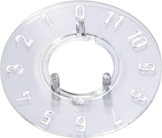 Skalenscheibe 0-11 30 ° OKW A4413049 Passend für Knopf Knopf 13,5 mm 1 St.