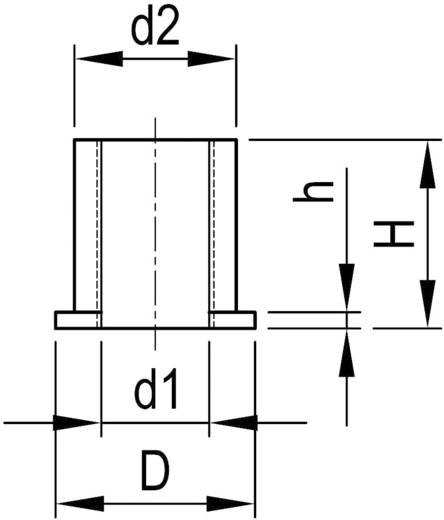Reduzierstück 6/4 mm Schwarz OKW A1300040 1 St.