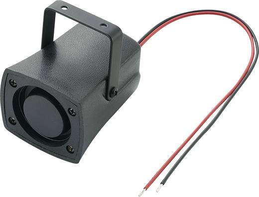 Piezo-Sirene KPS-Serie Geräusch-Entwicklung: 105 dB 12 V/DC Inhalt: 1 St.