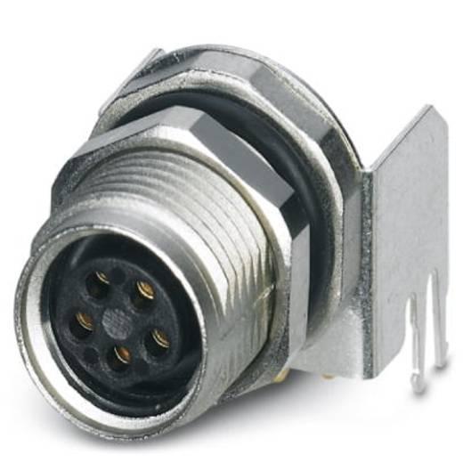 Sensor-/Aktor-Einbausteckverbinder M8 Buchse, Einbau Polzahl (RJ): 5 Phoenix Contact 1424239 SACC-DSI-M8FS-5CON-M10-L90