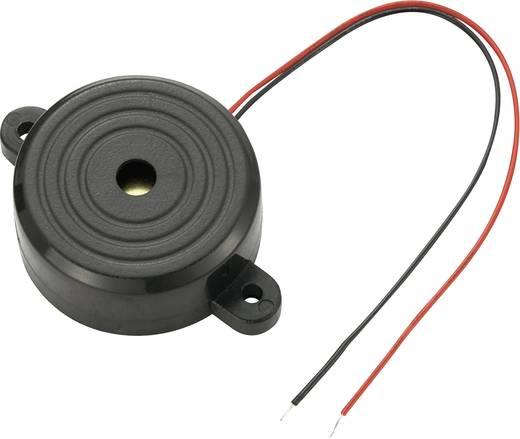 Piezo-Sirene KPS-Serie Geräusch-Entwicklung: 97 dB 12 V/DC Inhalt: 1 St.