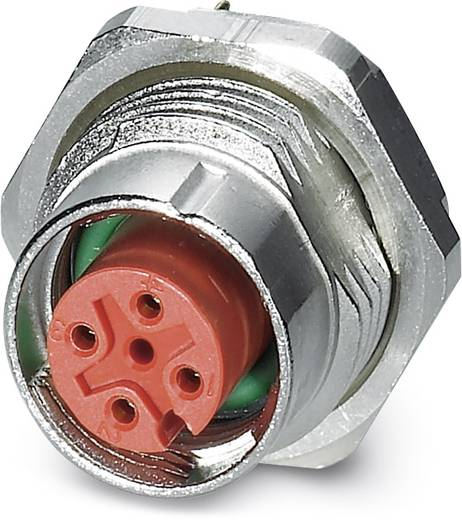 Sensor-/Aktor-Einbausteckverbinder M12 Buchse, Einbau Polzahl (RJ): 4 Phoenix Contact 1457869 SACC-DSI-FS-4CON-L180/SH