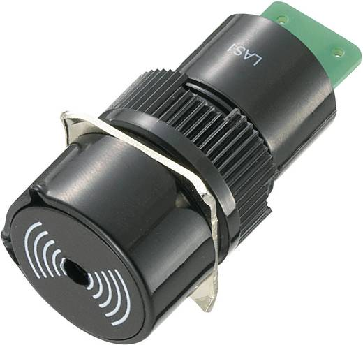 Signalgeber Geräusch-Entwicklung: 75 dB Spannung: 12 V Dauerton TRU COMPONENTS 718117 1 St.