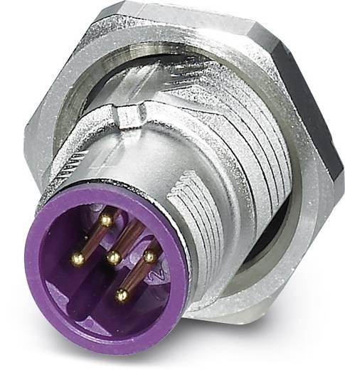 Sensor-/Aktor-Einbausteckverbinder M12 Stecker, Einbau Polzahl (RJ): 5 Phoenix Contact 1456475 SACC-DSI-MSB-5CON-L180/S