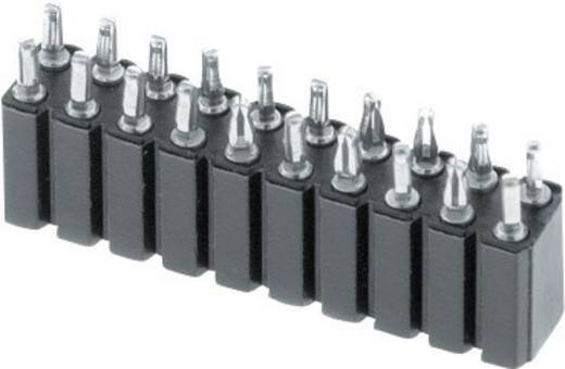Buchsenleiste (Präzision) Anzahl Reihen: 2 Polzahl je Reihe: 3 W & P Products 153PF-006-2-50-00 1 St.