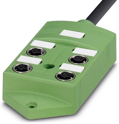 Sensor/Aktorbox passiv M12-Verteiler mit Metallgewinde SACB-4/ 8-10,0PUR SCO 1516991 Phoenix Contact 1 St.