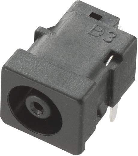 Niedervolt-Steckverbinder Buchse, Einbau horizontal 5.5 mm 1 mm Conrad Components 1 St.