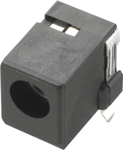 Niedervolt-Steckverbinder Buchse, Einbau horizontal 2.5 mm Conrad Components 1 St.