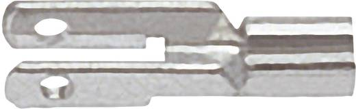 Flachsteckverteiler Steckbreite: 2.8 mm Steckdicke: 0.8 mm 180 ° Unisoliert Metall Klauke 735 1 St.
