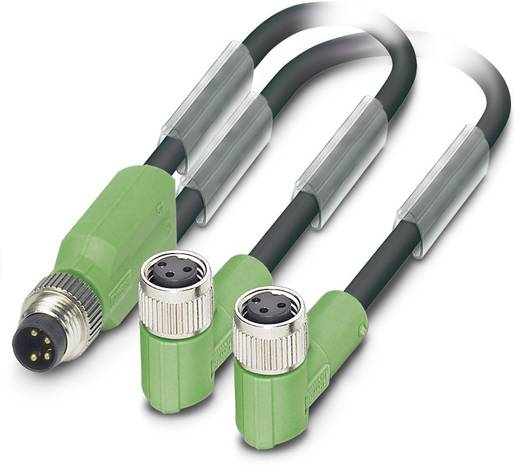 Sensor-/Aktor-Kabel SAC-3P-M8Y/2X0,3-PUR/M 8FR Phoenix Contact Inhalt: 1 St.