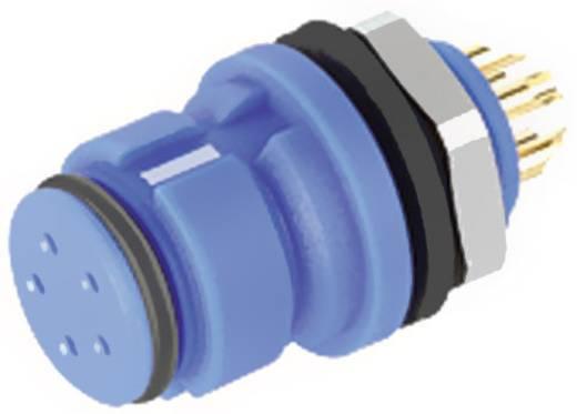 Subminiatur-Rundsteckverbinder mit Farbcodierung Serie 620 Pole: 4 Flanschdose 2.5 A 99 9212 060 04 Binder 1 St.
