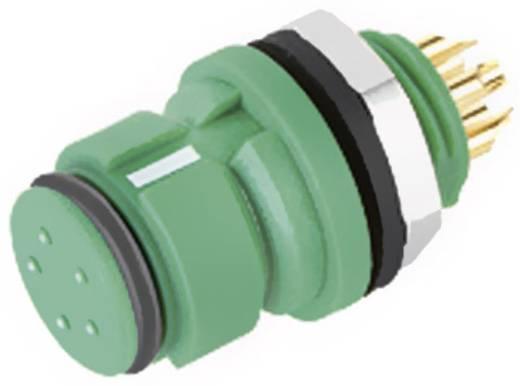 Subminiatur-Rundsteckverbinder mit Farbcodierung Serie 620 Pole: 4 Flanschdose 2.5 A 99 9212 070 04 Binder 1 St.