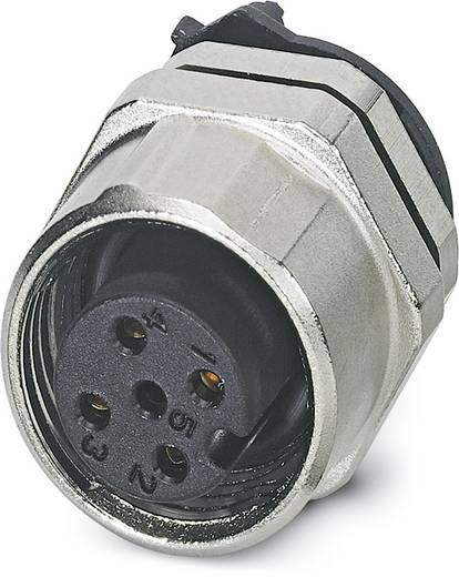 Sensor-/Aktor-Einbausteckverbinder M12 Buchse, Einbau Polzahl: 4 Phoenix Contact 1439997 SACC-DSIV-FS-4CON-L180 SCO THR