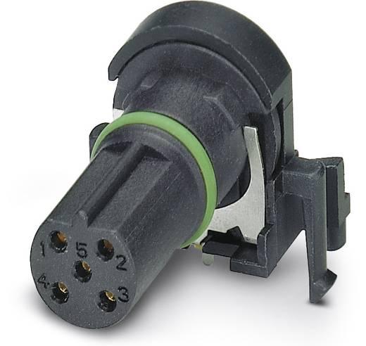 Sensor-/Aktor-Einbausteckverbinder M12 Buchse, Einbau Polzahl: 5 Phoenix Contact 1432512 SACC-CI-M12FSB-5CON-L90 SH SCO