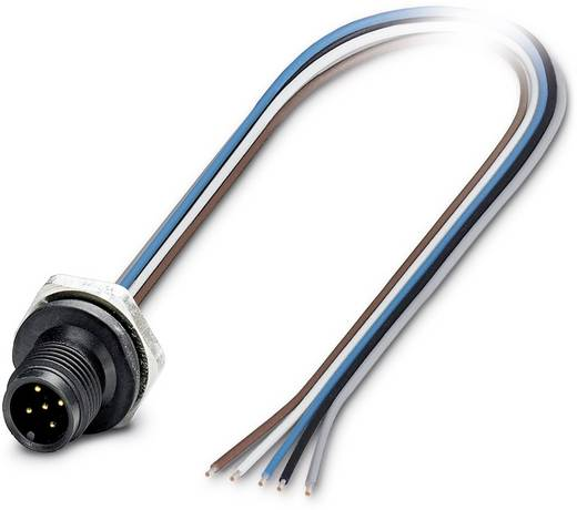 SACC-E-M12MS-5CON-M16/0,5 P - Einbausteckverbinder SACC-E-M12MS-5CON-M16/0,5 P Phoenix Contact Inhalt: 1 St.