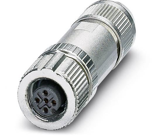 Sensor-/Aktor-Steckverbinder, unkonfektioniert M12 Buchse, gerade Polzahl: 5 Phoenix Contact 1432664 SACC-FS-5SC SH SCO
