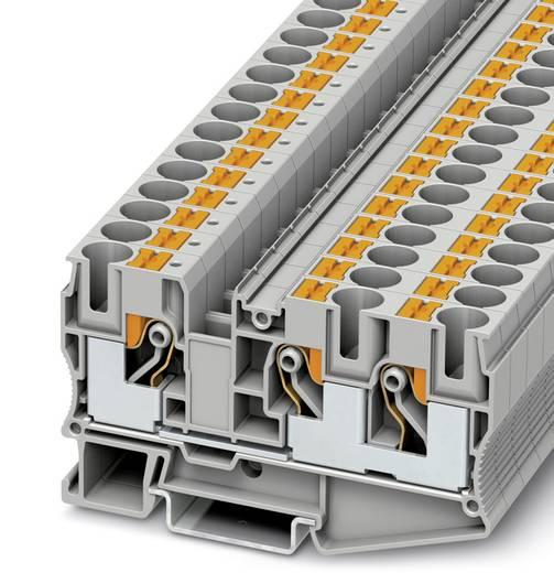 PT 10-TWIN - Durchgangsklemme PT 10-TWIN Phoenix Contact Grau Inhalt: 50 St.
