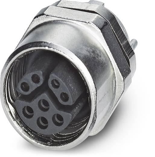 Sensor-/Aktor-Einbausteckverbinder M12 Buchse, Einbau Polzahl (RJ): 8 Phoenix Contact 1456666 VS-08-DSIV-L180-HYB SCO 2