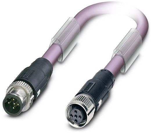 Sensor-/Aktor-Datensteckverbinder, konfektioniert M12 Stecker, gerade, Buchse, gerade 0.50 m Polzahl: 5 Phoenix Contact