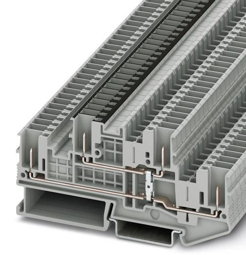 STTB 2,5/4P-PV - Doppelstock-Klemme STTB 2,5/4P-PV Phoenix Contact Grau Inhalt: 50 St.
