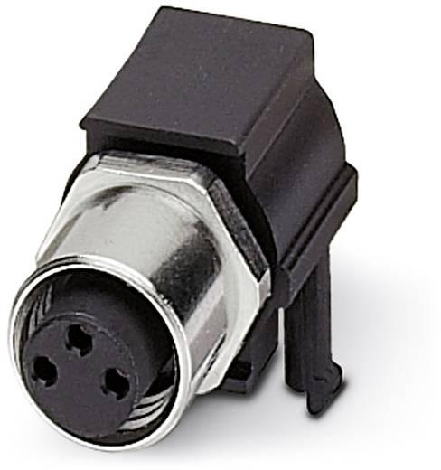 Sensor-/Aktor-Einbausteckverbinder M8 Buchse, Einbau Polzahl (RJ): 3 Phoenix Contact 1524788 SACC-DSIV-M 8FS-3CON-L 90