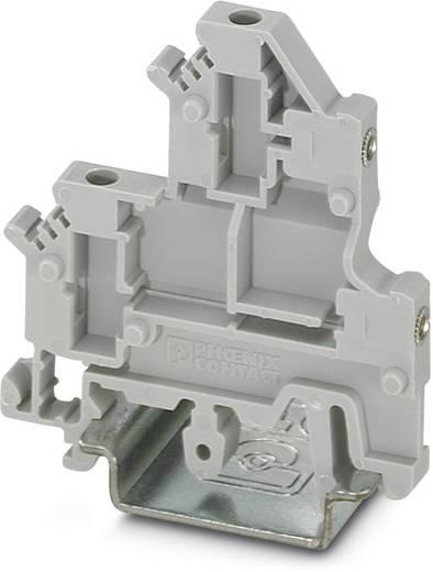 UKK 3-MSTB-5,08-F - Doppelstock-Flanschklemme, zur Verschraubung der MSTB-Flansc UKK 3-MSTB-5,08-F Phoenix Contact Grau