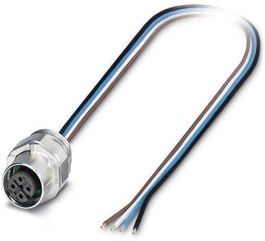 Sensor-/Aktor-Einbausteckverbinder M12 Buchse, Einbau 0.50 m Polzahl: 4 Phoenix Contact 1523447 SACC-EC-FS-4CON-M16/0,5
