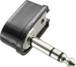 Jack konektor 6.35 mm TRU COMPONENTS 719037 zástrčka, zahnutá stereo, pólů 3, 1 ks