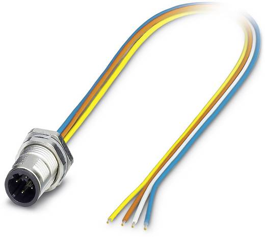 Sensor-/Aktor-Einbausteckverbinder M12 Stecker, Einbau 0.50 m Polzahl: 4 Phoenix Contact 1551901 SACC-DSI-MSD-4CON-M12/0