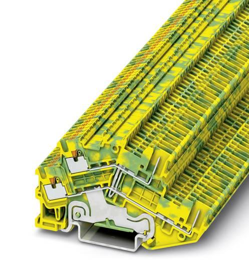 PTTBS 1,5/S/2P-PE - Schutzleiter-Doppelstockklemme PTTBS 1,5/S/2P-PE Phoenix Contact Grün-Gelb Inhalt: 50 St.