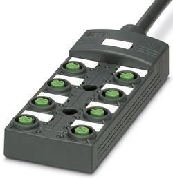 Répartiteur passif M12 filetage en plastique Phoenix Contact SACB-8/ 8- 5,0PUR SCO P 1452518 1 pc(s)