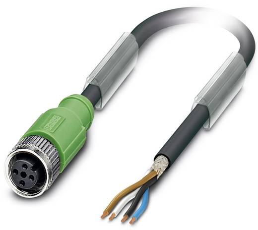 Sensor-/Aktor-Steckverbinder, konfektioniert M12 Buchse, gerade 1.50 m Polzahl: 4 Phoenix Contact 1682841 SAC-4P- 1,5-PU