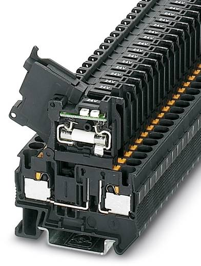 PT 4-HESILED 60 (5X20) - Sicherungsreihenklemme PT 4-HESILED 60 (5X20) Phoenix Contact Schwarz Inhalt: 50 St.