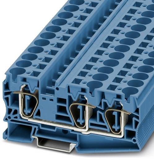 ST 16-TWIN BU - Durchgangsreihenklemme ST 16-TWIN BU Phoenix Contact Blau Inhalt: 25 St.