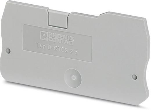 D-QTCS 2,5 - Abschlussdeckel D-QTCS 2,5 Phoenix Contact Inhalt: 50 St.