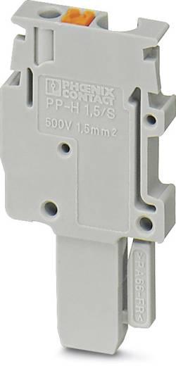PP-H 1,5/S/1-L - Stecker PP-H 1,5/S/1-L Phoenix Contact Grau Inhalt: 50 St.