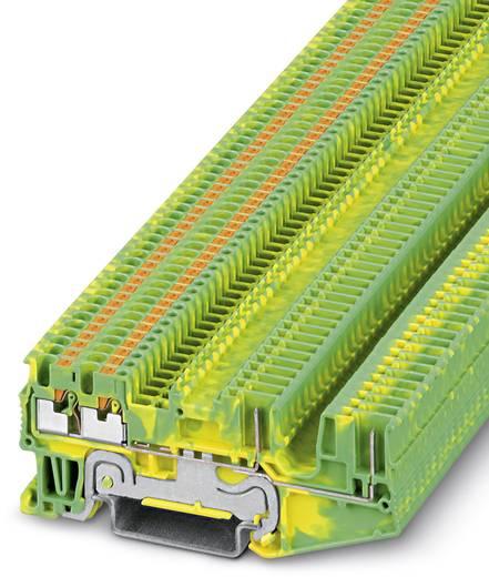 PT 1,5/S-QUATTRO/2P-PE - Schutzleiter-Reihenklemme PT 1,5/S-QUATTRO/2P-PE Phoenix Contact Grün-Gelb Inhalt: 50 St.