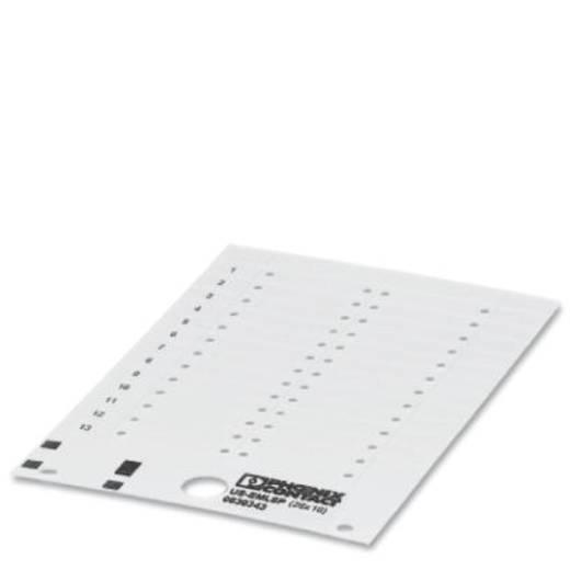 Gerätemarkierung Montage-Art: aufkleben Beschriftungsfläche: 28 x 10 mm Passend für Serie Baugruppen und Schaltanlagen W