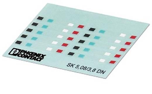 SK 5,08/3,8 DN - Kennzeichnungskarten SK 5,08/3,8 DN Phoenix Contact Inhalt: 5 St.