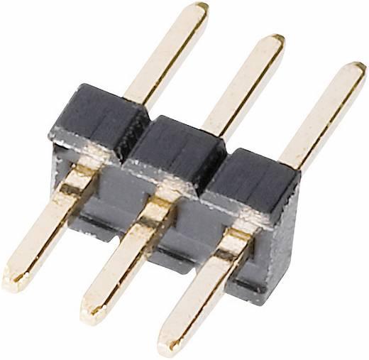 Stiftleiste (Standard) Anzahl Reihen: 1 Polzahl je Reihe: 16 W & P Products 707-1-16-1-20-00 1 St.