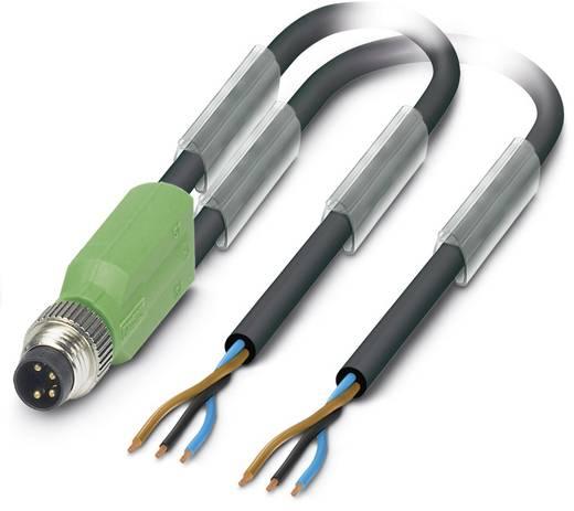 Sensor-/Aktor-Steckverbinder, konfektioniert M8 Stecker, gerade 10 m Polzahl (RJ): 3 Phoenix Contact 1458651 SAC-3P-M8Y/