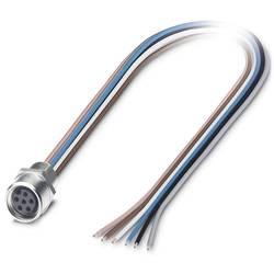 Zabudovateľný zástrčkový konektor pre senzory - aktory Phoenix Contact SACC-E-M 8FS-6CON-M 8/0,5, 1 ks