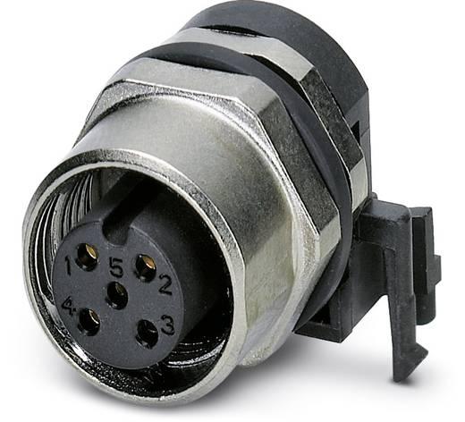 Sensor-/Aktor-Einbausteckverbinder M12 Buchse, Einbau Polzahl (RJ): 5 Phoenix Contact 1436563 SACC-DSIV-FS-5CON-L90 SCO