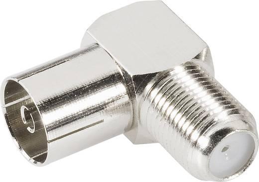 Koax-Adapter Koax-Buchse - F-Buchse BKL Electronic 0403137 1 St.