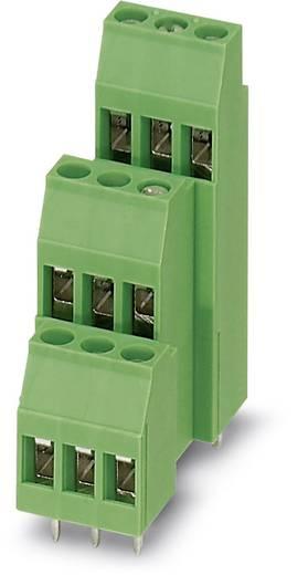 Dreistockklemme 2.50 mm² Polzahl 9 MK3DS 3/ 3-5,08 Phoenix Contact Grün 50 St.