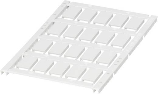 Gerätemarkierung Montage-Art: aufclipsen Beschriftungsfläche: 17 x 10 mm Passend für Serie Geräte und Schaltgeräte Weiß