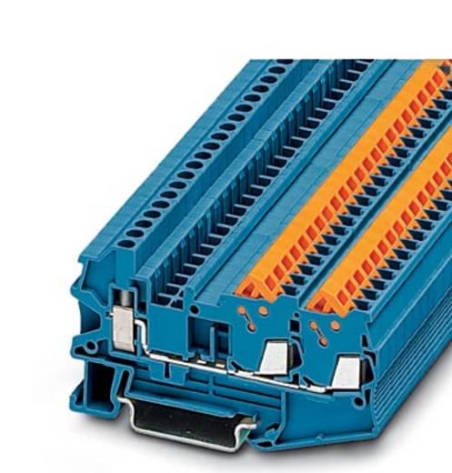 QTCU 1,5-TWIN BU - Durchgangsreihenklemme QTCU 1,5-TWIN BU Phoenix Contact Blau Inhalt: 50 St.